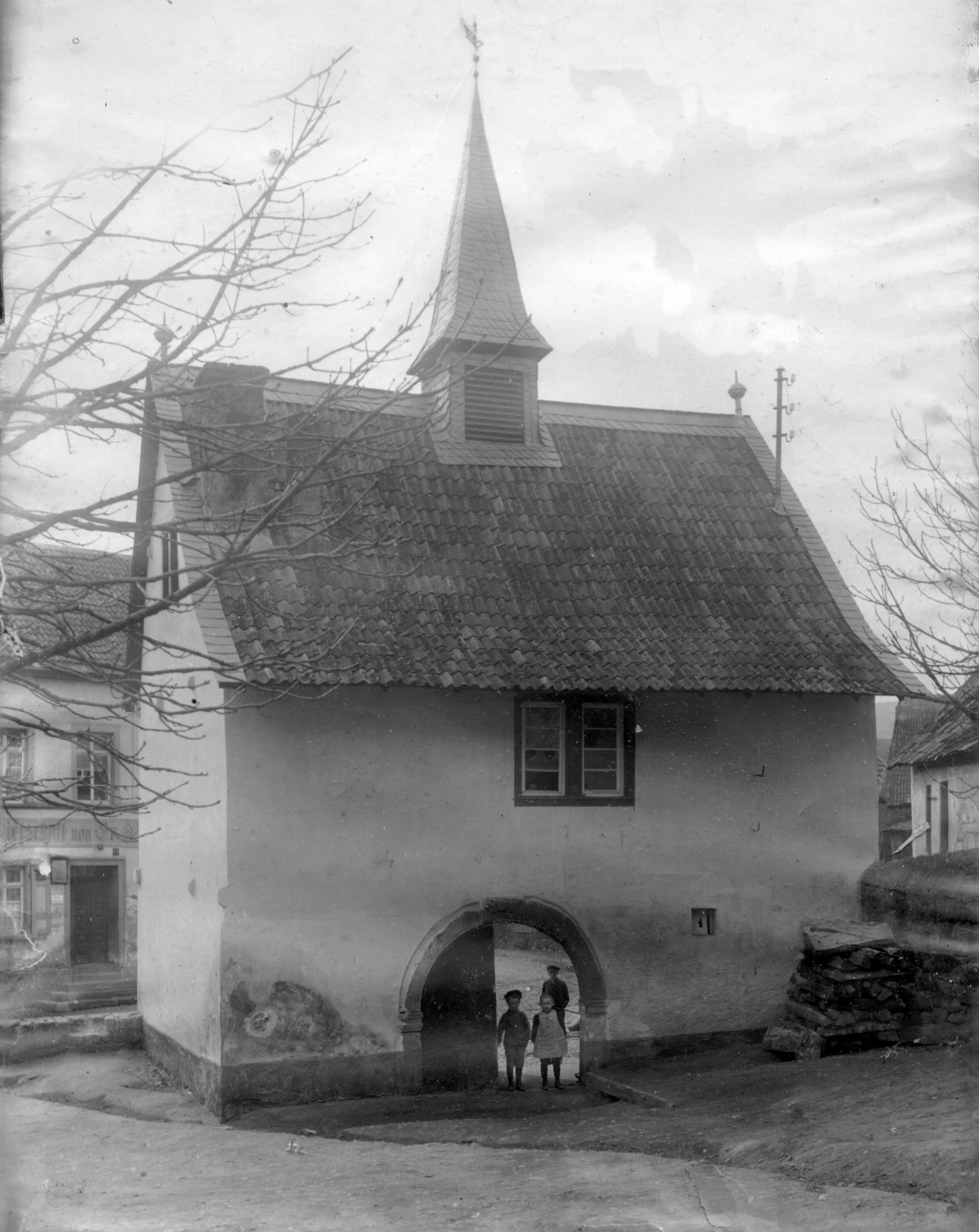 Rückseite um 1950